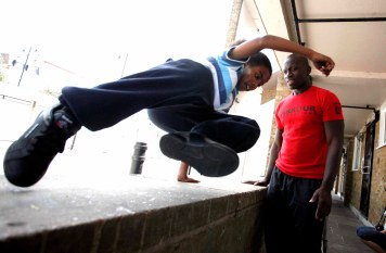 Parkour workshop
